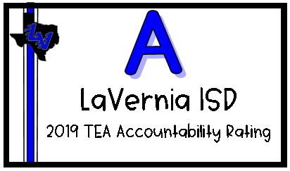 "LV Intermediate Receives an ""A"" from Texas Education Agency"
