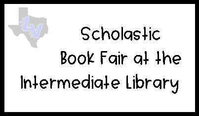 Scholastic Fall Book Fair - Save the Dates!