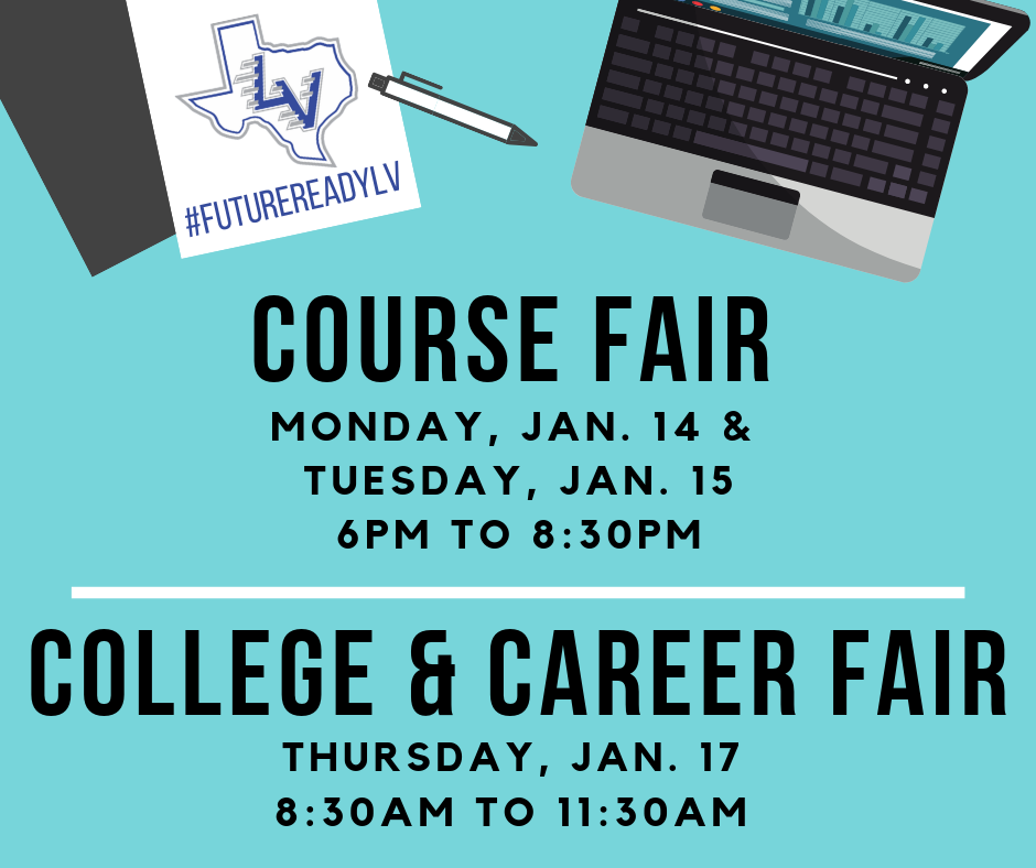 Course Fair and College & Career Fair Info!