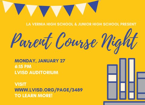 Join Us at 2020-2021 Parent Course Night!