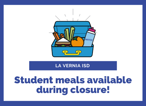 Meals available for all LVISD students during closure!